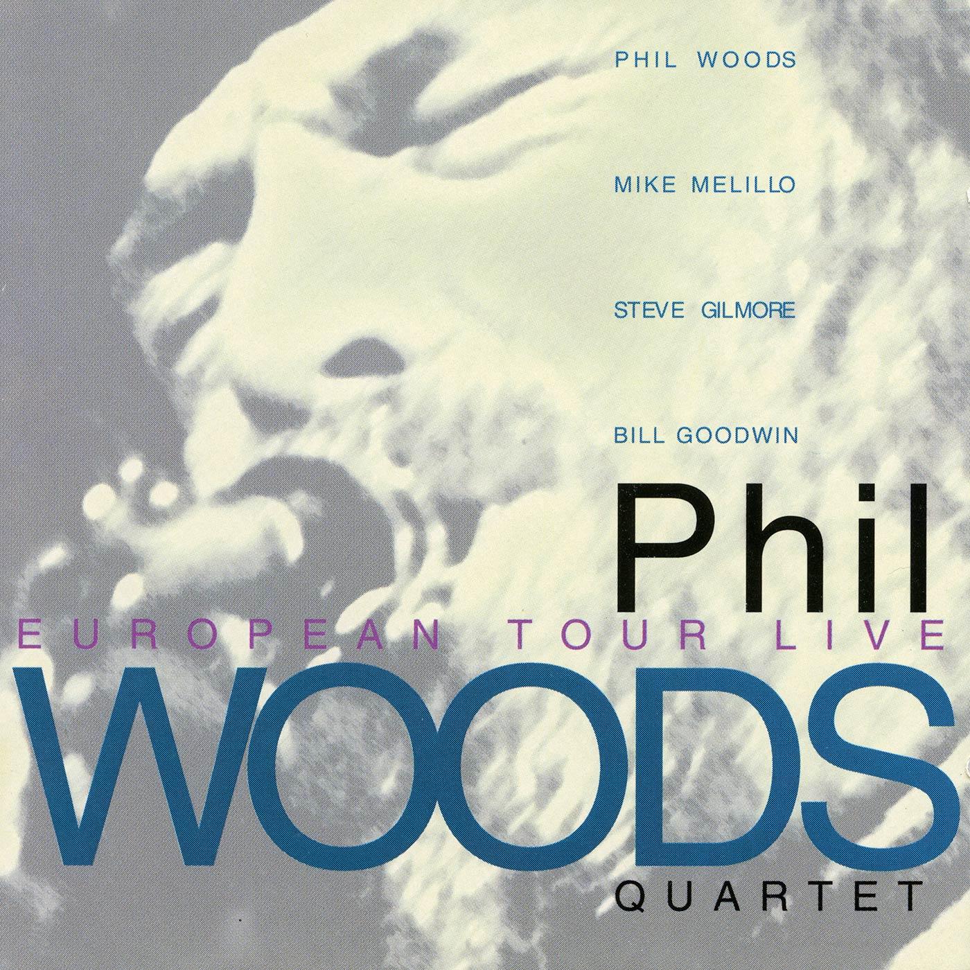 European Tour Live (2CD SET) - Phil Woods Quartet