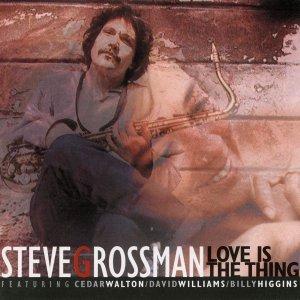 Love Is The Thing - Steve Grossman