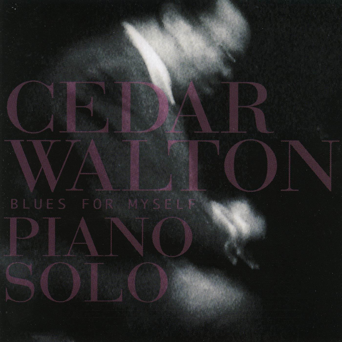 Blues For Myself - Cedar Walton Piano Solo