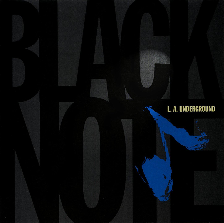 L.A. Underground - Black/Note